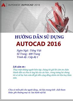 Giáo trình Autocad 2016 PDF